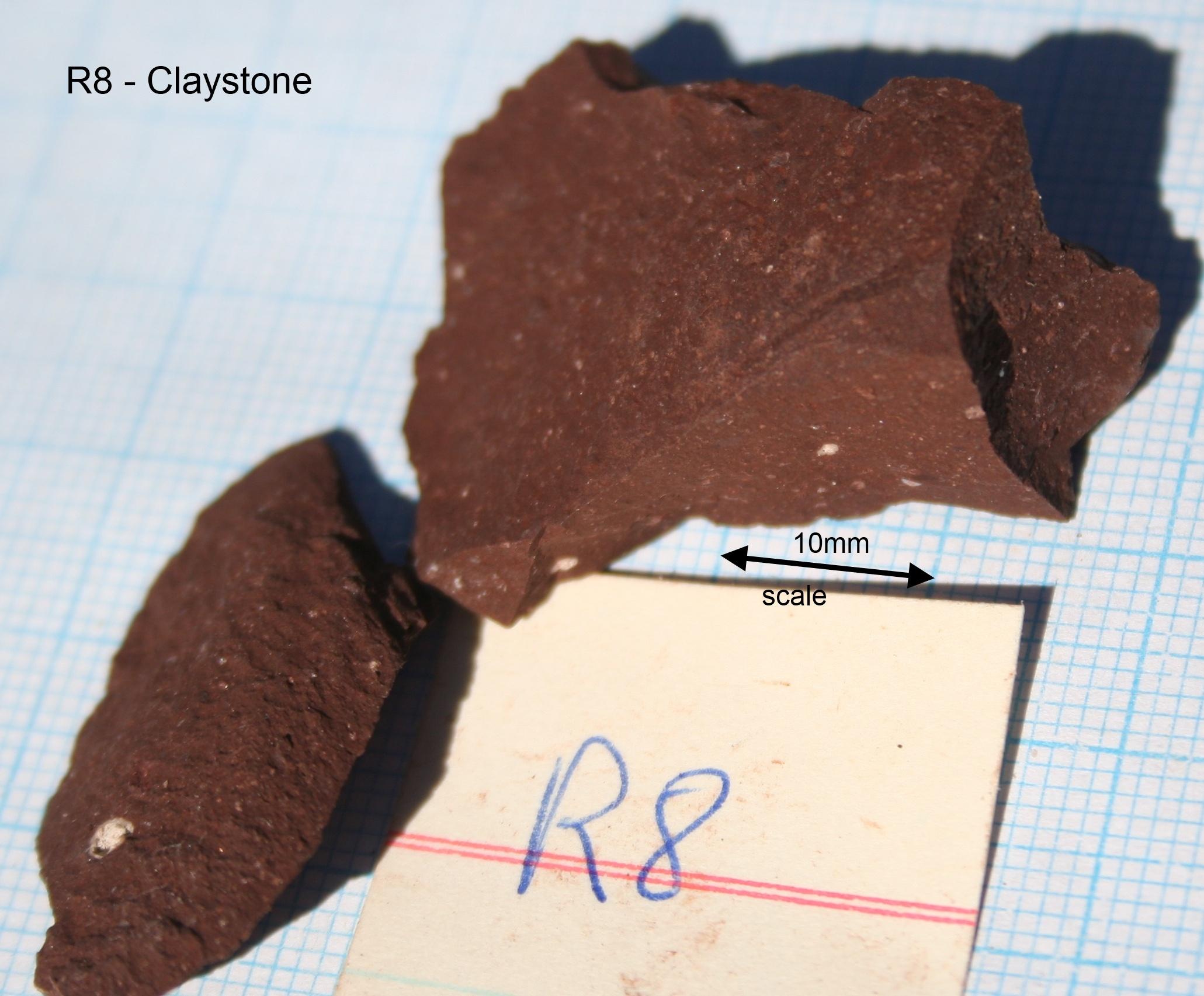 Claystone (mudstone)