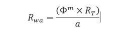 Rwa formula